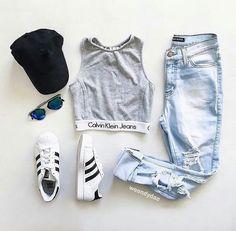 Imagem de adidas, fashion, and outfit