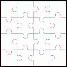 16 Piece Jigsaw By Bird FREE SVG Cutting Files