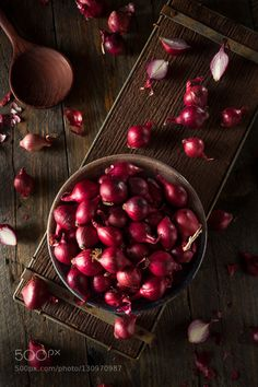 Pic: Organic Red Pearl Onions