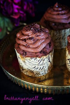 Paleo Death By Chocolate Cupcakes! (Gluten/Grain/Dairy Free) - Real Sustenance
