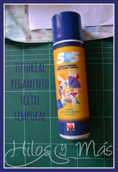 Hilos y Más - Tutorial pegamento textil temporal  #hilosymas #tutorial #pegamento #textil #505