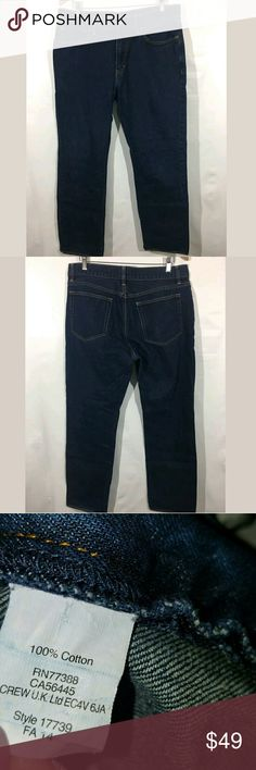 J.Crew Bleecker Jeans Men's 34 x 32 Straight Leg J.Crew Bleecker Jeans Men's 34 x 32 Straight Leg 100% Cotton Blue   Excellent used condition.  34 inch waist. 31.5 inch inseam.  Pre-owned item condition. Item has little to no signs of wear unless specifically stated. Please carefully review item details and uploaded pictures for details of this item before bidding or buying. Item is functional and ready for your closet!   AB J. Crew Jeans Straight