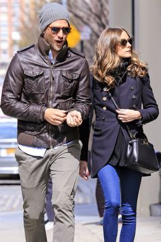 Johannes Hubel and Olivia Palermo