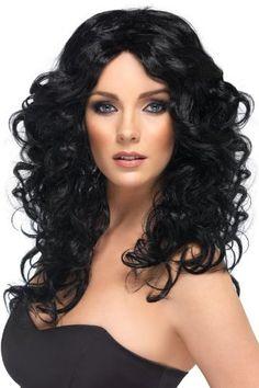 Smiffy's Siren Long Curly Wig