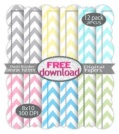 Free Chevron Paper Pack