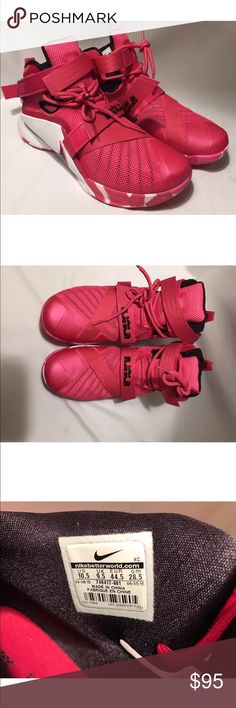 NIKE LeBron Soldier Shoes 9 IX Men 10.5 Pearl Pink Brand new with tags.pink in color Nike Shoes Sneakers