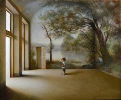Antonio Nunziante, 1956   Metaphysical art