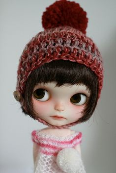 Blythe - adorable little face!