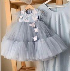 Baby Girl Frocks, Baby Girl Party Dresses, Dresses Kids Girl, Girls Frock Design, Baby Dress Design, Kids Dress Wear, Kids Gown, Baby Frocks Designs, Kids Frocks Design