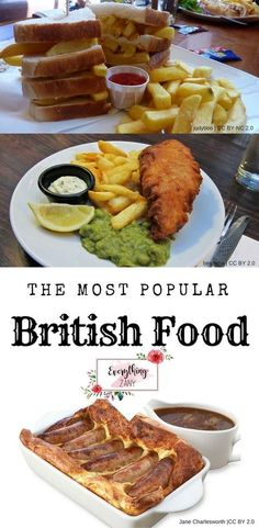 The Most Popular British Food to Try in Britain (Best British Meals) Here is the most popular British food that you should try here in the UK. Most people will describe British food as bland and stodgy. Alright, I'm not selling it to you, right! Over the past few years living here in the UK, I've managed to adapt and acquired the taste of actually liking the traditional British food. There were some occasions that I crave for good 'ole British pub food.