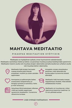 Meditaation hyödyt - Pikaopas meditaation mahtaviin hyötyihin.