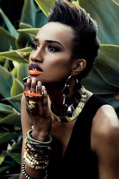 Model Sharri Sutton photographed by Caleb Wilson, Stella Simona. via mocha fleur