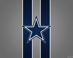 TWO for ONE Texas Shape Dallas Cowboy Design Decal Sticker