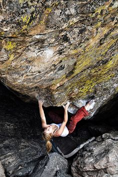 www.boulderingonline.pl Rock climbing and bouldering pictures and news Mina crushing Tommy'
