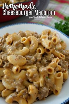 Homemade Cheeseburger Macaroni is deliciously seasoned, loaded with cheese and can be on the table in 30 minutes. Homemade Cheeseburger Macaroni is deliciously seasoned, loaded with cheese and can be on the table in 30 minutes. Cheese Burger Macaroni, Macaroni And Cheese Casserole, Cheeseburger Pasta, Casserole Recipes, Hamburger Macaroni, Hamburger Casserole, Chicken Casserole, Hamburger Stroganoff, Casserole Ideas