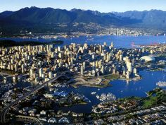 Vancouver, BC for 2010 Olympic Mens Ice Hockey Game...still so much for me to explore there!