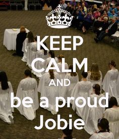 Be a jobie :)