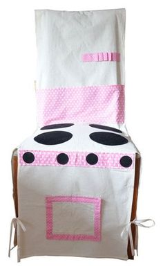 Play Kitchen Stove Cotton Cloth Chair Cover eco toys cotton play education biome Kitchen Ikea kids