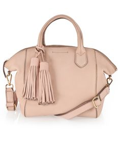 Willow Zip Top Day Bag Misty Rose
