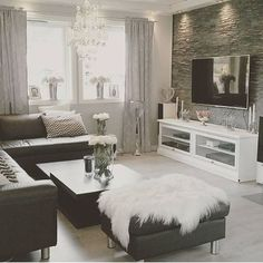 Home Decor Inspiration @inspire_me_home_decor Black and white, ...Instagram photo | Websta (Webstagram)