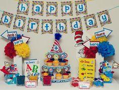 Dr. Seuss party parties