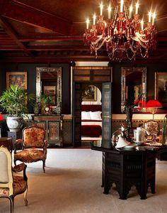 Living room suite at La Mamounia   Jacques Garcia