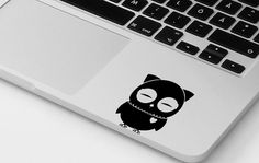Macbook pro decal owl vinyl sticker decal mural transfer graphic art laptop…
