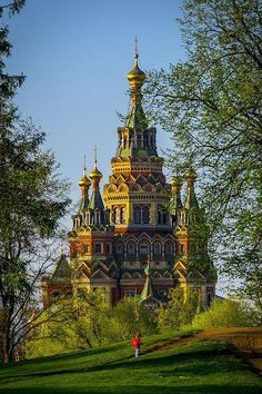 Peter's and Paul Cathedral in Saint Petersburg , Russia