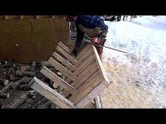Cutting Firewood - YouTube