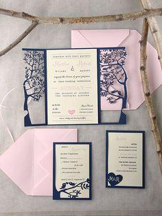 Rustic Wedding Invitation by forlovepolkadots