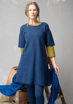 Tunic in felted wool – Top favorites – GUDRUN SJÖDÉN – Webshop, mail order and boutiques | Colorful clothes and home textiles in natural materials.