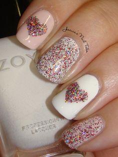 Jessica's Nail Tales: Valentine Hearts
