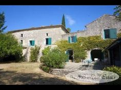 AB Real Estate France: Stunning 18th C. Stone Property For Sale in Uzès area, Languedoc Roussillon, South of France