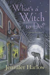 I couldn't resist the promised combination of cozy mystery, paranormal and snarky humour in What's a Witch To Do?,