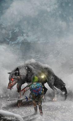 The Legend of Zelda Enemies Wolfos MM Variant by BradyGoldsmith on DeviantArt