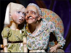 The amazing Ronnie Burkett-Master-Puppeteer. This article tells about his play.  (These marionettes are beautiful!)
