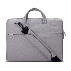 Laptop Sleeve Shoulder Bag Briefcase,Canvas Fabric Case for 13.3-15.4 Inch Laptop / Tablet / Macbook / Notebook, Shockproof and Water-Resistant, Multi-functional Suit Fabric Portable Laptop Carrying Bag >>> This is an Amazon Affiliate link. Check this awesome product by going to the link at the image.
