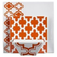 This is the dinner set I have at my house! Moroccan/Moorish design from LOVE THEM! Moroccan Pattern, Moroccan Design, Moroccan Style, Dinnerware Sets, Moorish, Color Of The Year, Pantone Color, Tile Design, Texture
