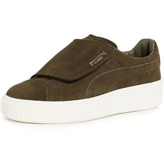 8d6a99ebd40 PUMA Basket Platform Bigvelc Sneakers ( 110) ❤ liked on Polyvore featuring  shoes
