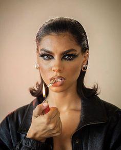 Makeup Inspo, Makeup Inspiration, Beauty Makeup, Eye Makeup, Hair Makeup, Hair Beauty, Maquillage On Fleek, Eyeliner, Eyeshadow