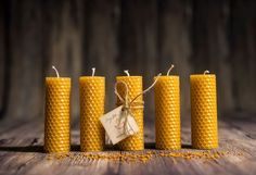 Pure Natural Beeswax candles Candles, Beeswax candles Set of 5 Beeswax candles in box Rolled Beeswax candles Aromatherapy Candles, Beeswax Candles, Soy Candles, Scented Candles, Natural Candles, Candle Set, Candle Holders, Handmade Candles, Candle Making