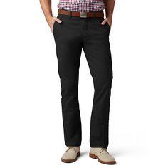 Men's Dockers® Slim Tapered Modern Khaki Pants, Size: 36X29, Black