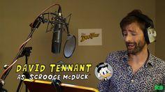 DAVID TENNANT NEWS FROM WWW.DAVID-TENNANT.COM: David Tennant Cast As Scrooge McDuck In Disney's All New Duck Tales!