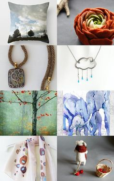 October Beauties by Ela Decors on Etsy--Pinned with TreasuryPin.com