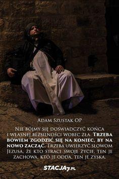 Zdjęcie użytkownika Stacja7.pl. My Jesus, Words Quotes, Prayers, Lord, Christian, Thoughts, Father, Bible, Faith
