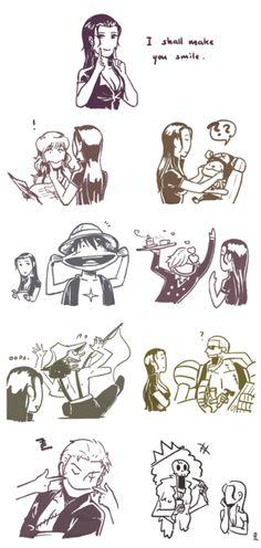 One Piece | Nico Robin | Nami | Toy Tony Chopper | Monkey D Luffy | Vismoke Sanji | Usopp | Franky | Roronoa Zoro | Brook