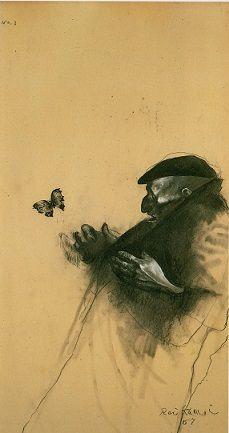鴨居玲展 踊り候へ - Con Brio 楽譜と趣味の道具箱 Joker Series, Graphite Art, Sketch Painting, Japan Art, Etchings, Western Art, Drawing Techniques, Conceptual Art, Figure Drawing