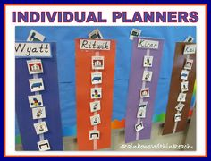 Teaching Children with Autism – The Tangibles | Visual schedules