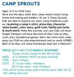 Camp Sprouts