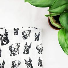 Baby Items For Dog Lovers (@monofaces) • Instagram photos and videos Muslin Swaddle Blanket, Personalised Gifts, New Baby Gifts, Baby Items, New Baby Products, Blankets, Dog Lovers, Pup, Baby Shower